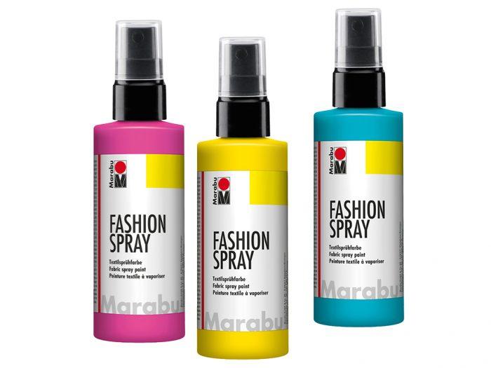 Krāsa tekstilam Marabu Fashion Spray 100ml - 1/5