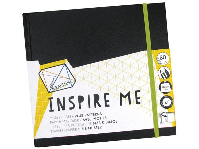 Sketch book Derwent Graphik Inspire Me - 1/2