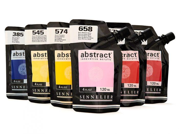 Acrylic colour Sennelier Abstract 120ml - 1/4