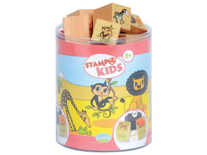 Stamp set Aladine Stampo Kids - 1/4