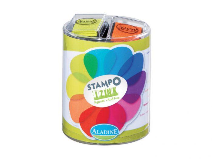 Ink pad set Aladine Stampo Izink