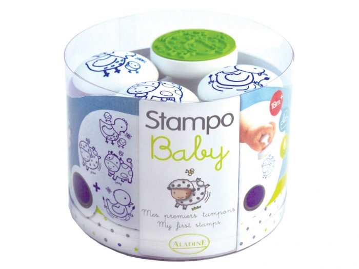 Zīmogu komplekts Aladine Stampo Baby - 1/3