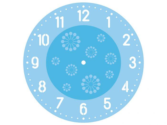 Šabloon Rayher Clocks d=30cm - 1/3