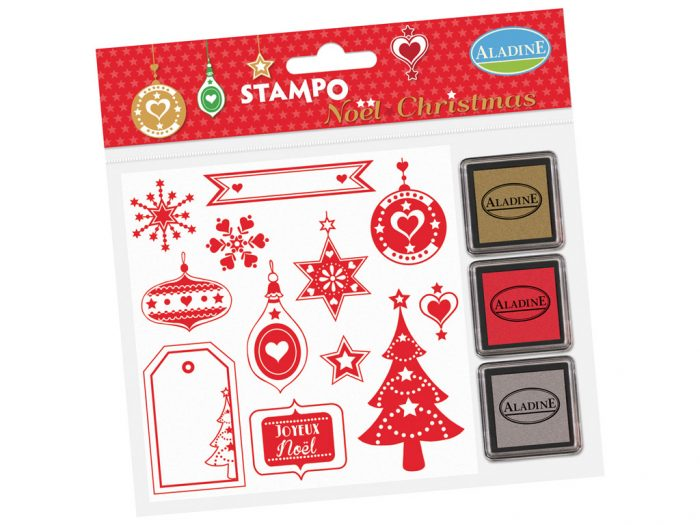 Stamp set Aladine Stampo Christmas