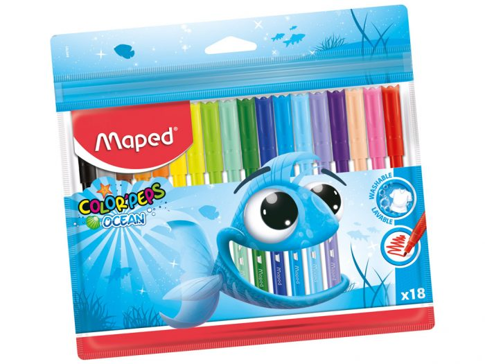 Flomasteris Maped Color'Peps Ocean - 1/2