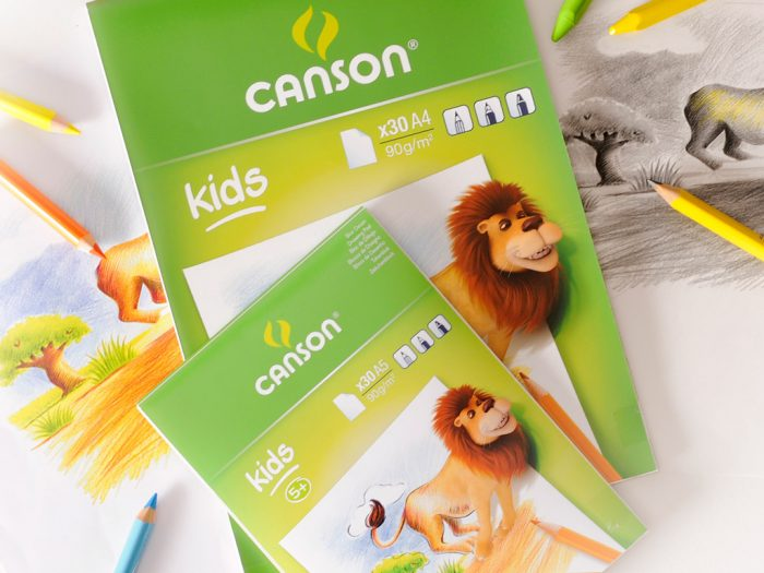 Drawing pad Canson Kids