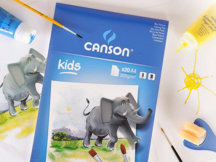 Painting pad Canson Kids