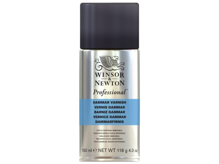Dammar varnish for oil Winsor&Newton Artists' spray