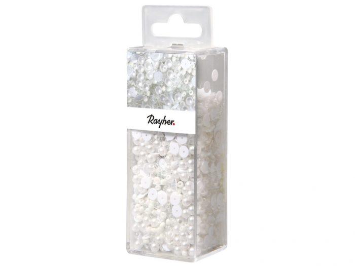 Vizuļi mazgājami Rayher+ttikla pērlītes+stieple