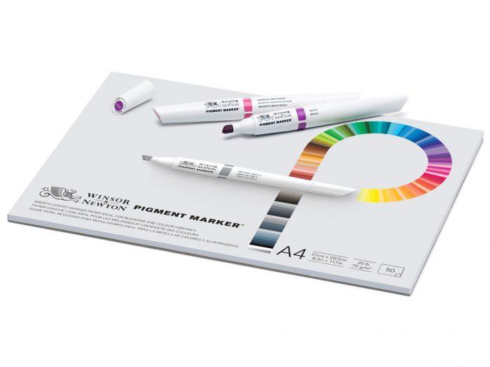Piešimo bloknotas W&N Pigment Marker