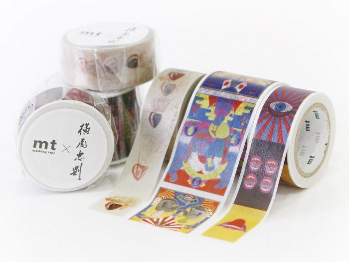 Washi dekoratyvi lipni juostelė mt Tadanori Yokoo