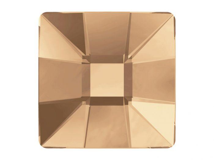Kristāla akmentiņš Swarovski Flat Back Hotfix kvadrāts 2483 10mm - 1/2