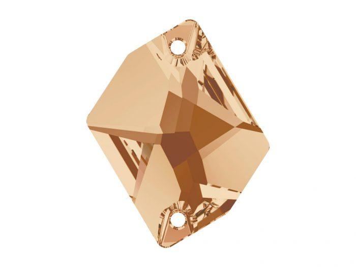 Crystal sew-on stone Swarovski cosmic 3265 26x21mm - 1/2