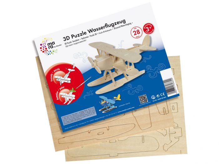 3D dėlionė mediniai Marabu Kids lėktuvai - 1/3