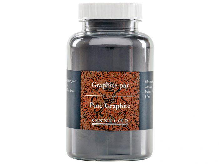 Graphite powder Sennelier