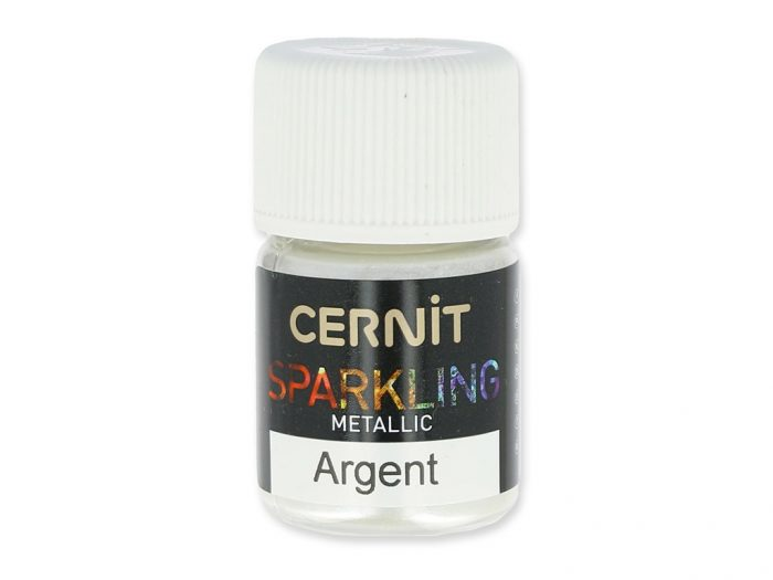 Sparkling powder Cernit Metallic