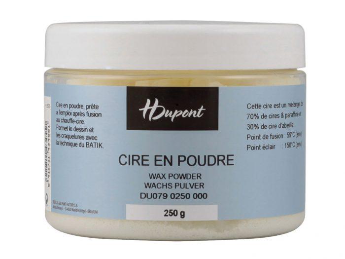 Wax powder H Dupont