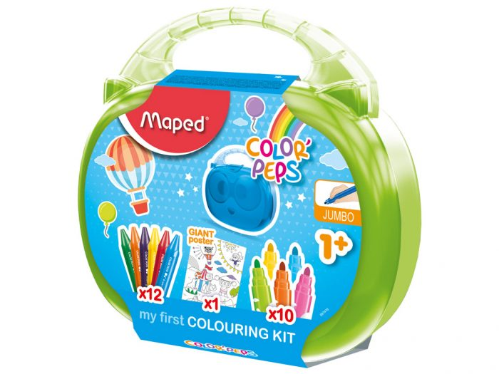 Piešimo reikmenų rinkinys Maped Color'Peps Early Age - 1/2