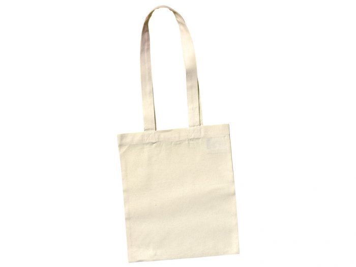 Cotton shopping bag Ideen 24x28cm XL handles