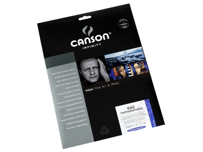 Fotopaber Canson Infinity Rag Photographique