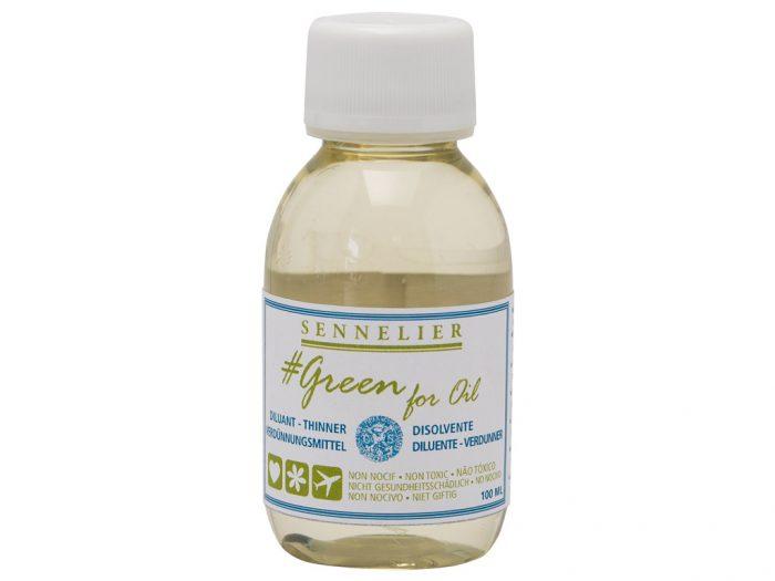 Oil colour thinner Sennelier Green for Oil