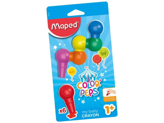 Plastikas krītiņi Maped Color'Peps Early Age Baby - 1/2