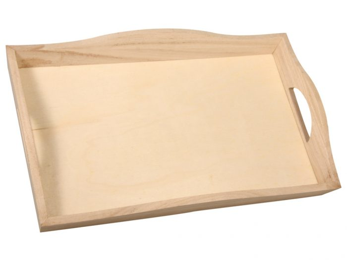 Wooden tray Rayher - 1/2