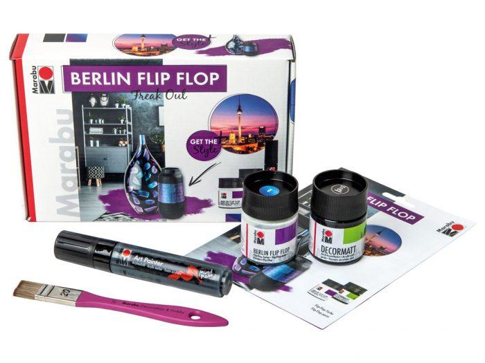 Colour flop special-effect paint set Marabu Berlin Flip Flop - 1/5