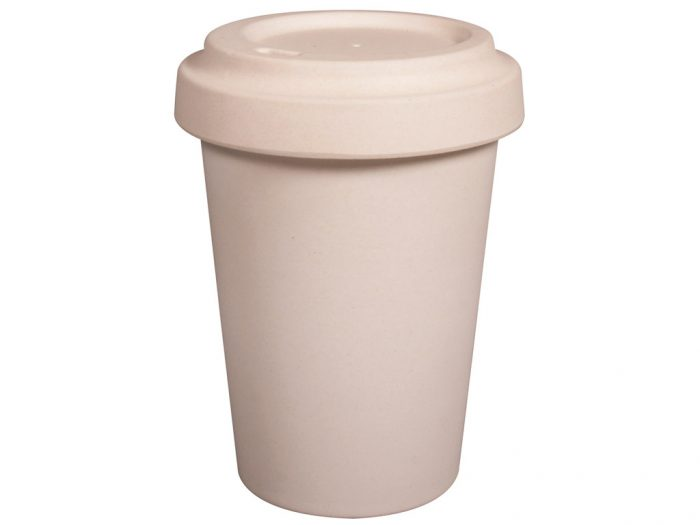 Bamboo mug to go Rayher with lid - 1/6