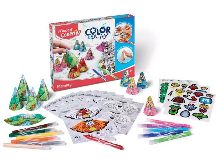 Meistravimo komplektas Maped Creativ Color&Play Memory - 1/5