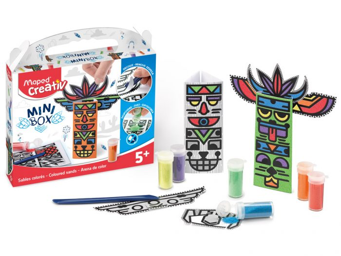 Coloured sand craft kit Maped Creativ Mini Box - 1/6