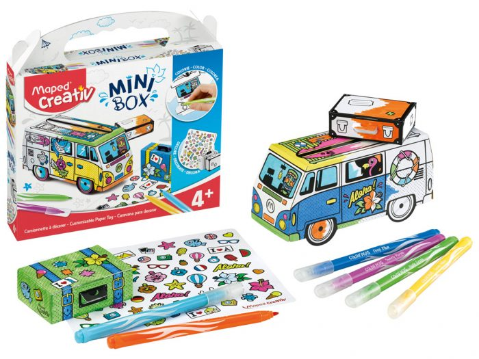 Meisterduskomplekt Maped Creativ Mini Box buss - 1/5