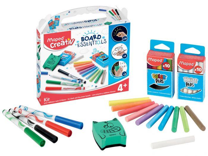 Black and dry erase boards essentials kit Maped Creativ Board Essentials - 1/3