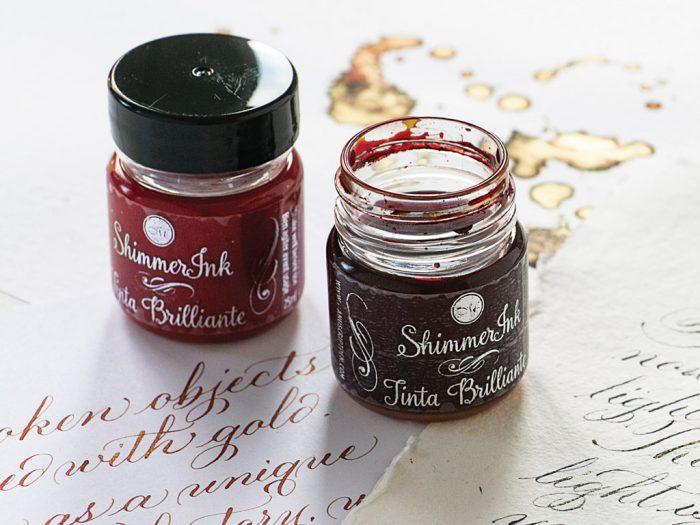 Calligraphy ink Manuscript ShimmerInk 25ml - 1/5