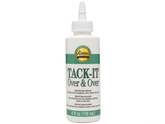 Textile glue Aleene's Tack-It Over&Over