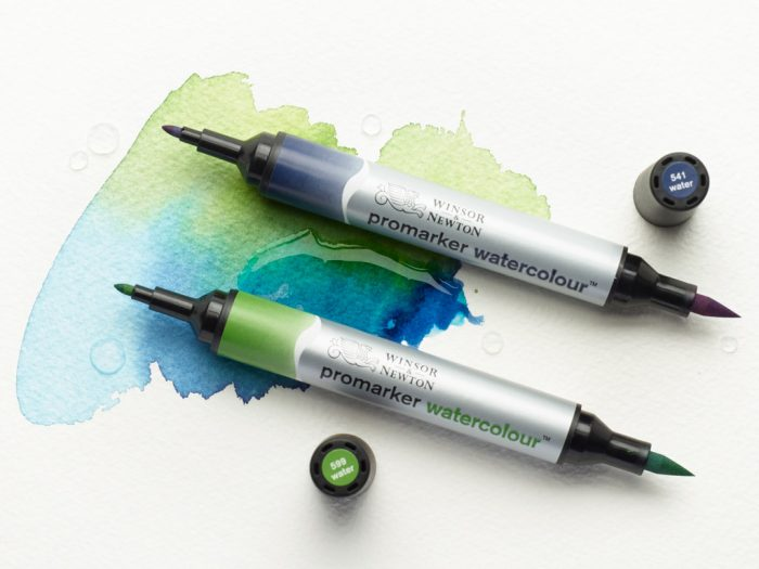 Watercolour marker Winsor&Newton - 1/3