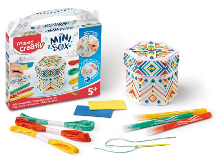 Crafting kit Maped Creativ Mini Box weaved box - 1/6