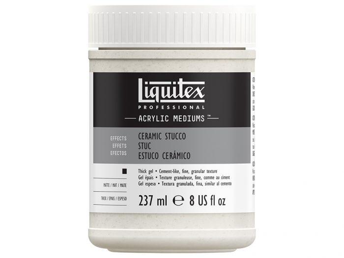 Akrüülvärvi lisand Liquitex Ceramic Stucco - 1/2
