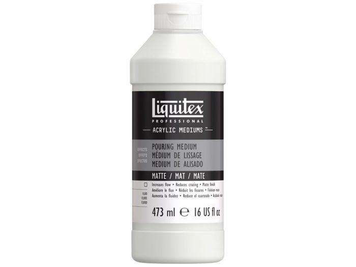 Matte pouring medium Liquitex - 1/2