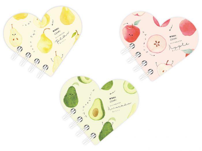 Užrašų knygelė su spirale M&G Vitality Fruits