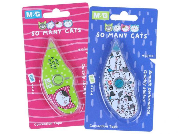 Korrektuurroller M&G So Many Cats