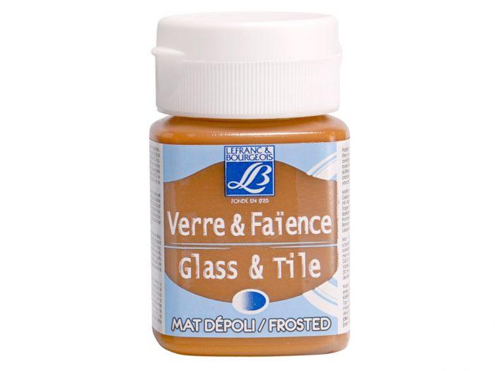 Stiklo dažai Glass&Tile Frost 50ml
