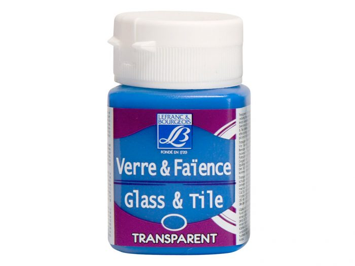 Klaasivärv Glass&Tile Transparent 50ml - 1/2