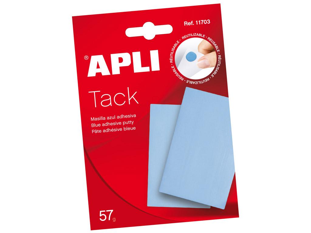 Adhesive putty Apli blue