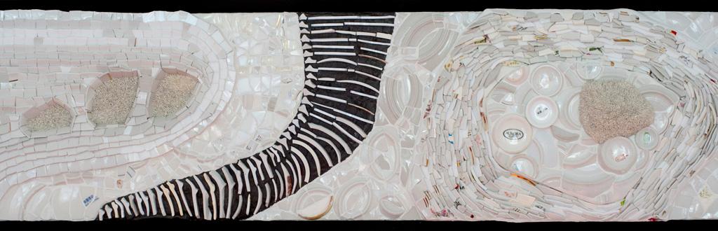 """Detail tööst näitusel """"Anna uus elu"""", 2019"""