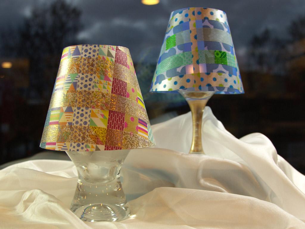 Lampveida sveces abažūrs