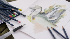 Akvareļzīmuļi Derwent
