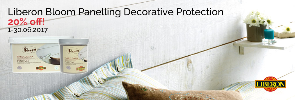 Bloom panelling decorative protection