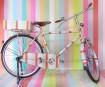 """Disainiöö töötuba: """"Disaini kultuur"""" ehk jalgratta dekoreerimine mt washiteipidega"""